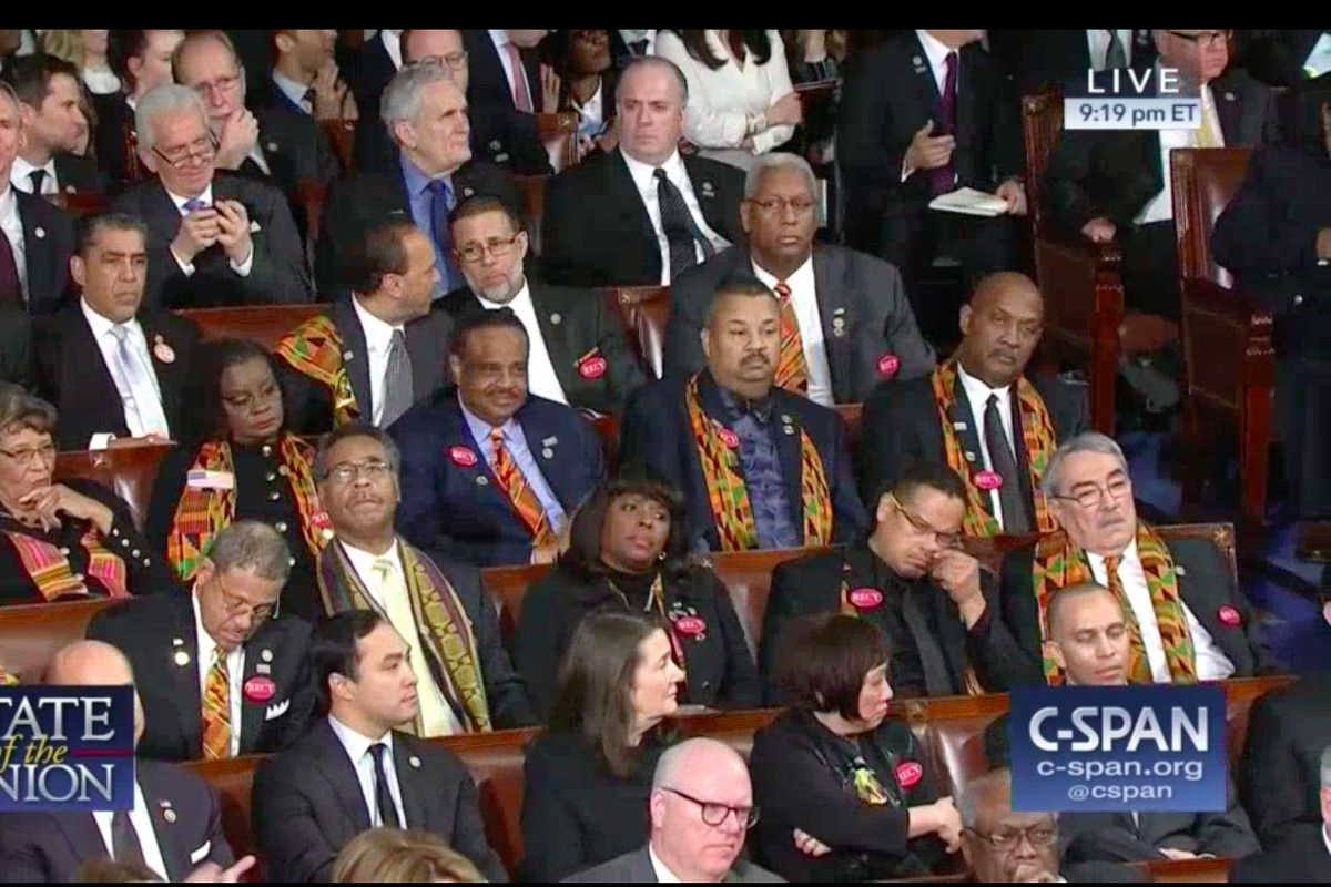 USA lawmakers wear Ghana's 'kente' to protest Trump's comment