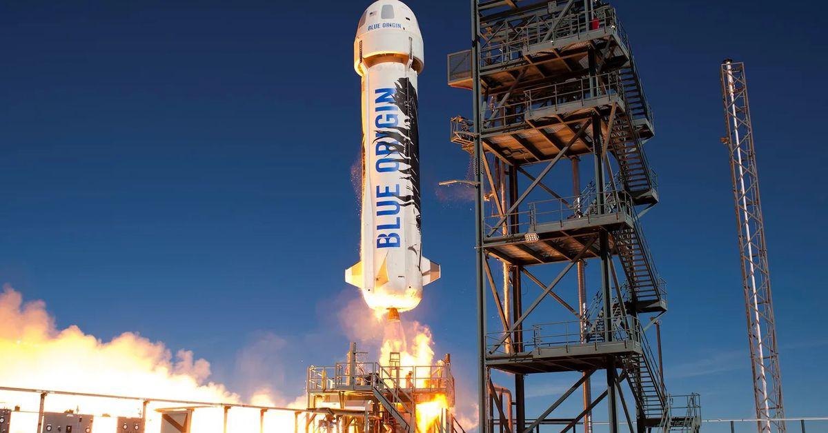 Vergecast: Jeff Bezos in space, RCS on Verizon, and Biden on Big Tech