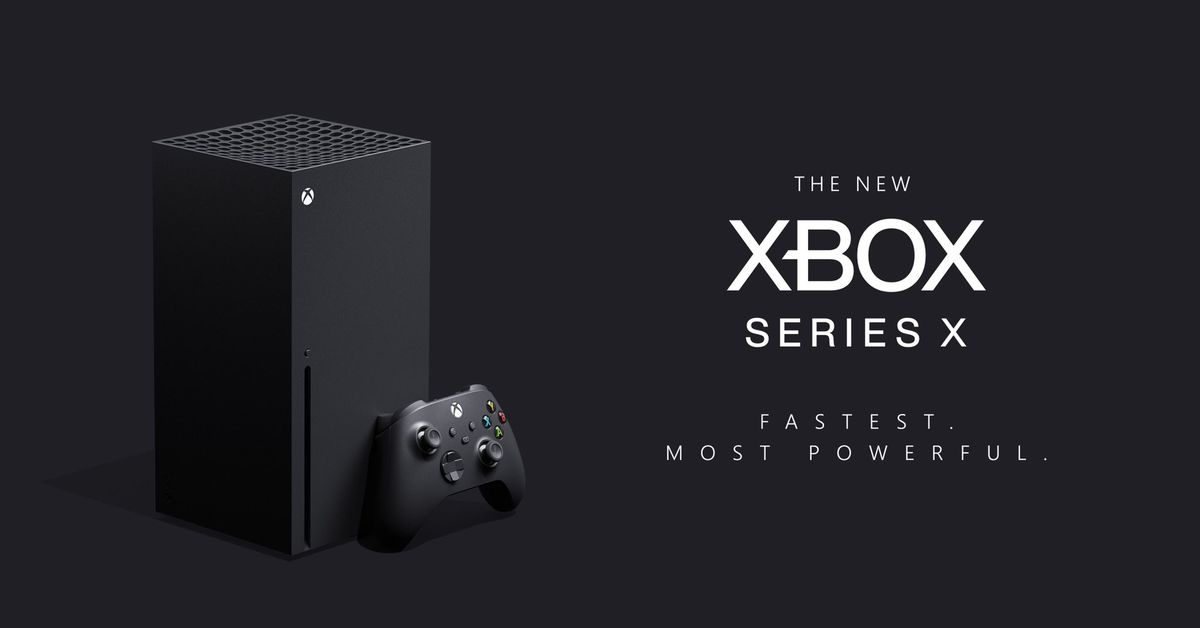 Microsoft's next Xbox is Xbox Series X, coming holiday 2020