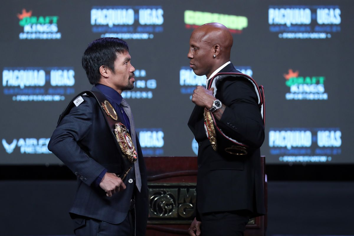 Yordenis Ugás v Manny Pacquiao - News Conference