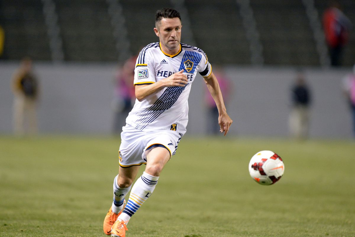 Robbie Keane scores the only goal of the game and gives the Whitecaps their second loss of the 2014 season
