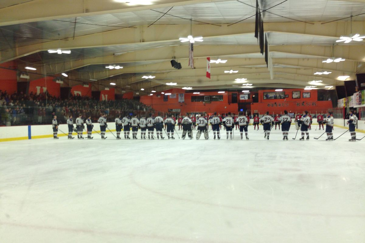 Woburn's O'Brien Rink is the site of two of tonight's MIAA Division 1 Hockey Tournament games.