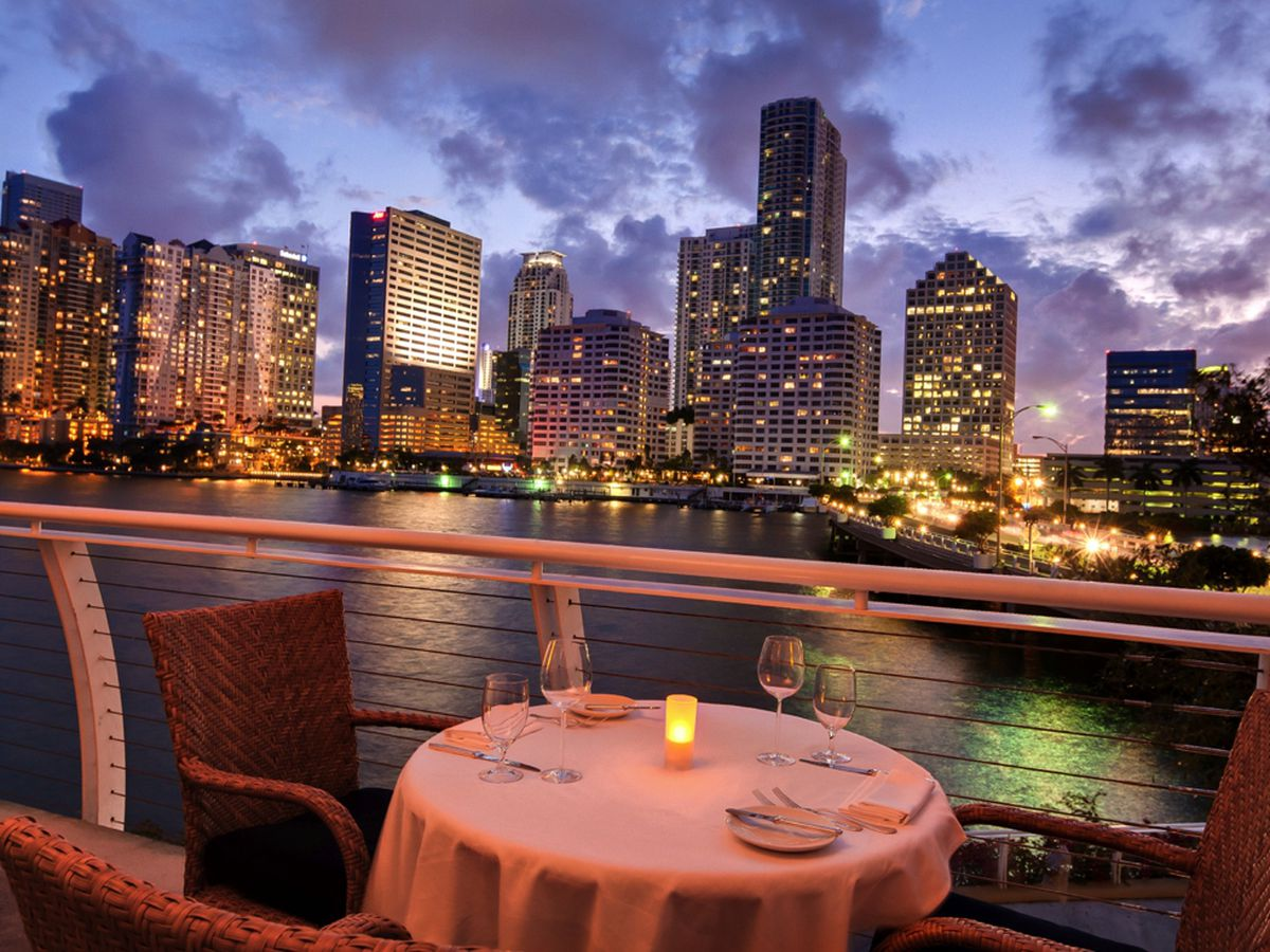 Where To Eat Outside In Miami Now That Summers Over