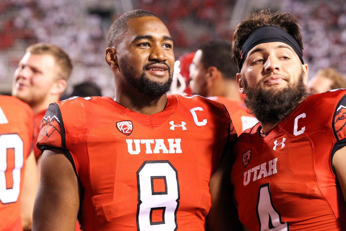 Utah Utes defensive end Nate Orchard (8)