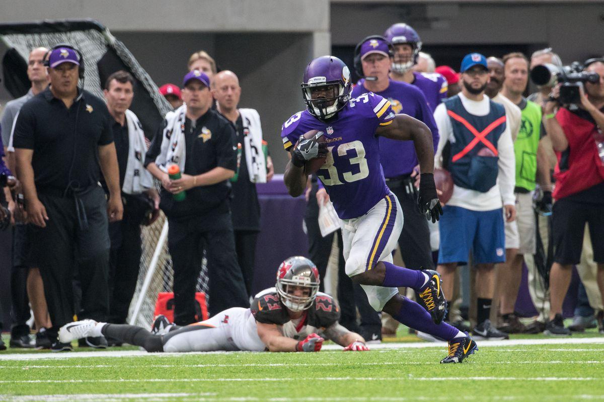 NFL: Tampa Bay Buccaneers at Minnesota Vikings
