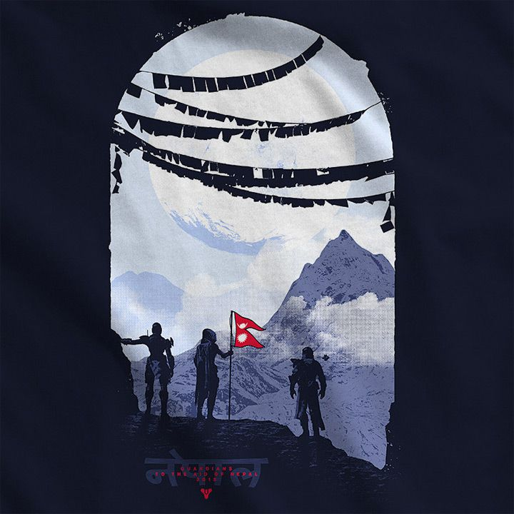 Bungie selling Destiny shirt, emblem and shader to support