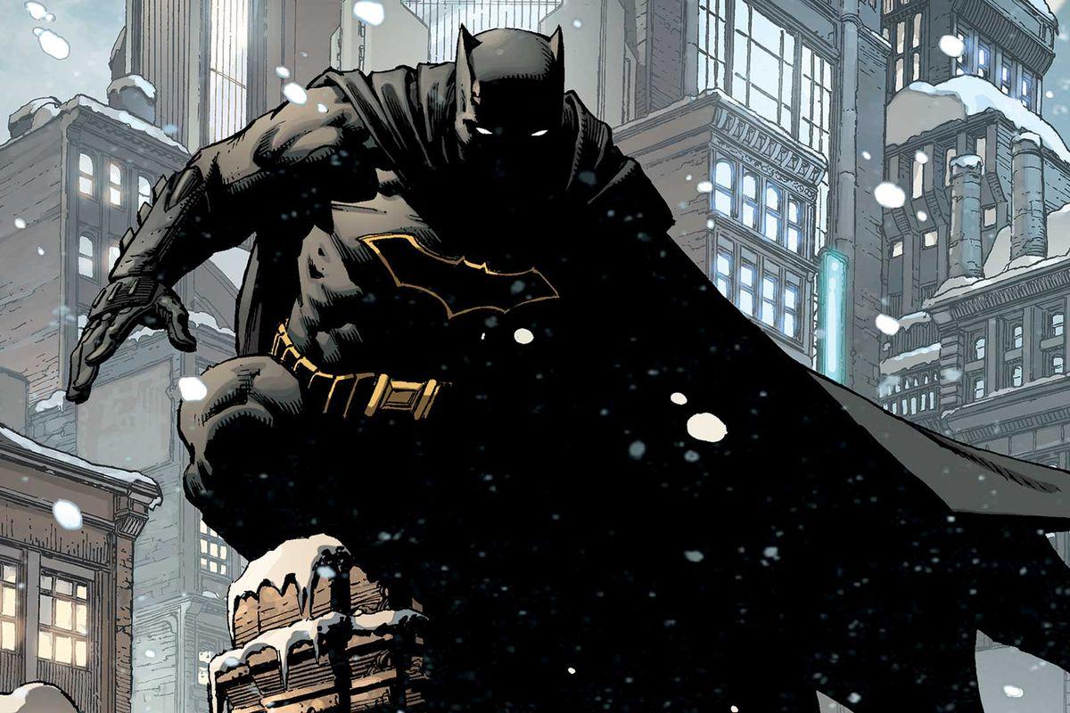 The cover of Batman Annual #1, DC Comics 2016.