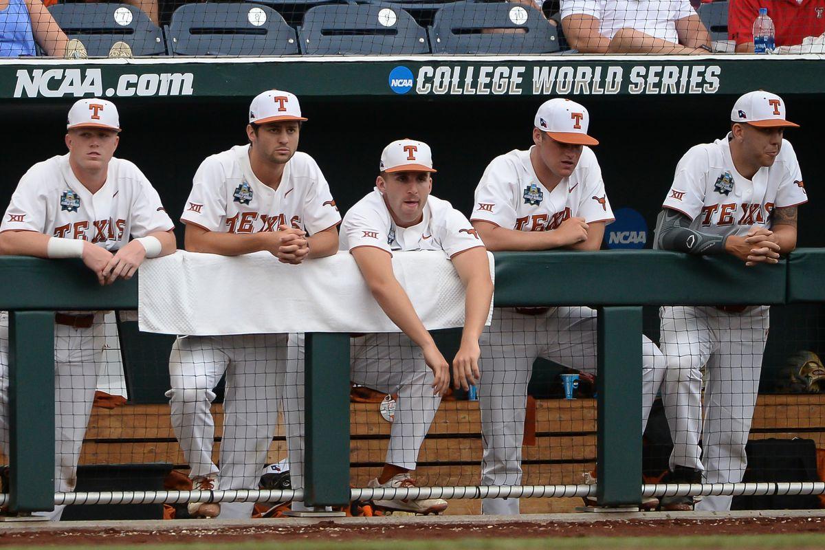 NCAA Baseball: College World Series-Florida vs Texas