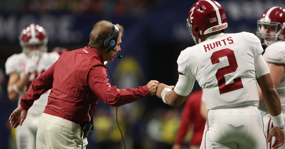 Bama just won one of the most ridiculously Hollywood games ever