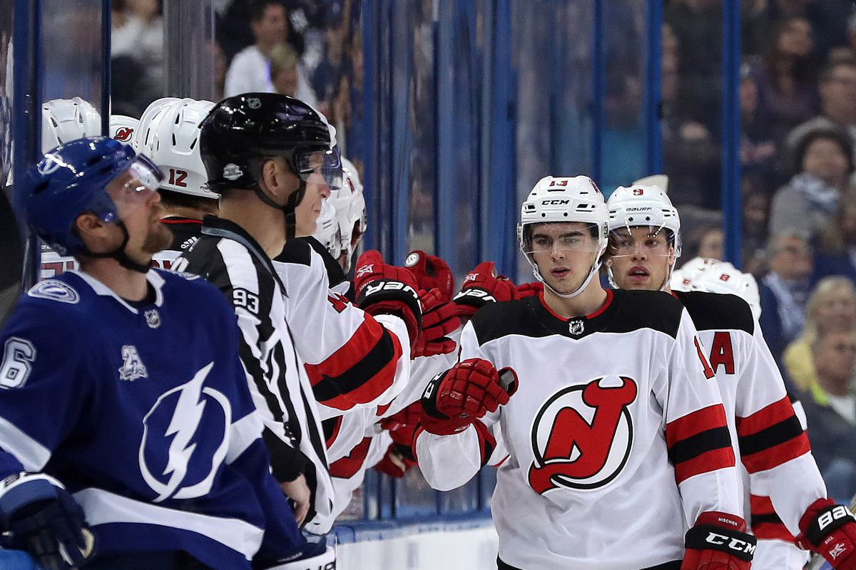 New Jersey Devils to Play Tampa Bay Lightning in First Round of 2018 ... 82d0ad149