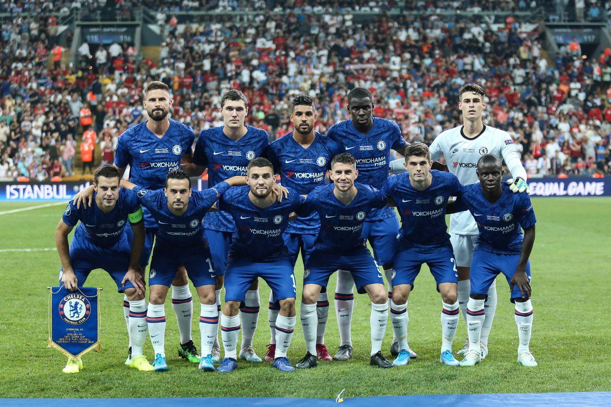 Chelsea Premier League Champions League Squad Lists