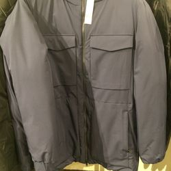 Parka, size S, $259 (was $690)