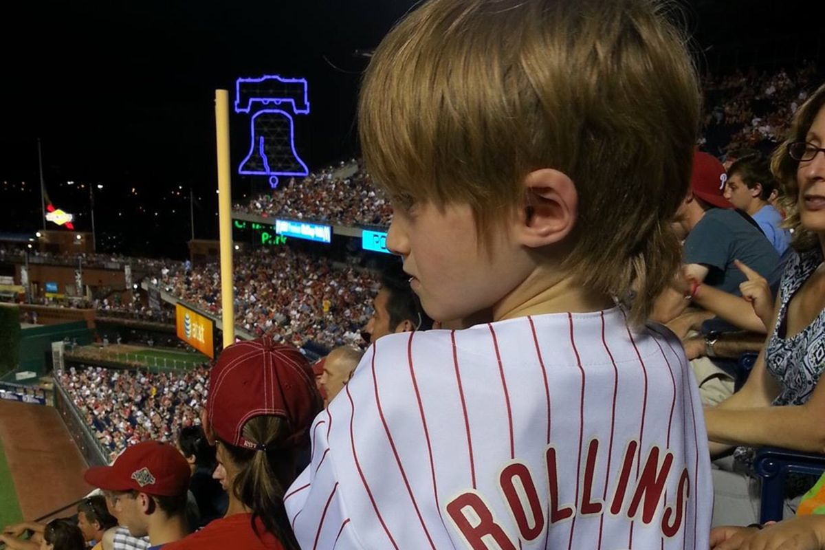 This Jimmy Rollins imposter did not get two hits tonight.