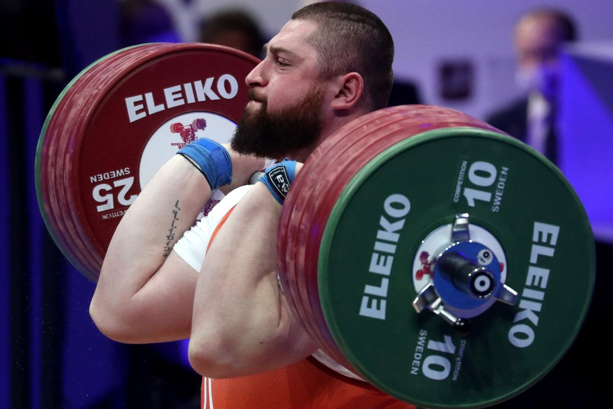2021 European Weightlifting Championships in Moscow