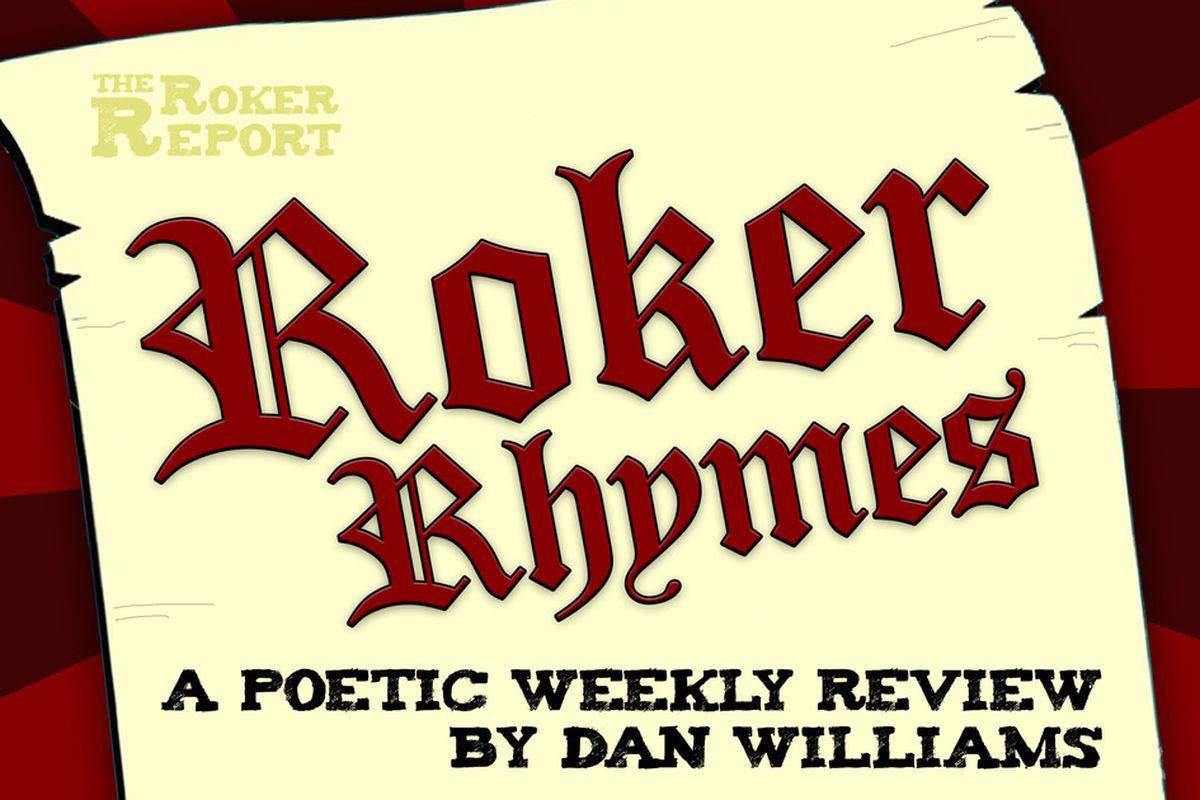 Roker Rhymes is back again!