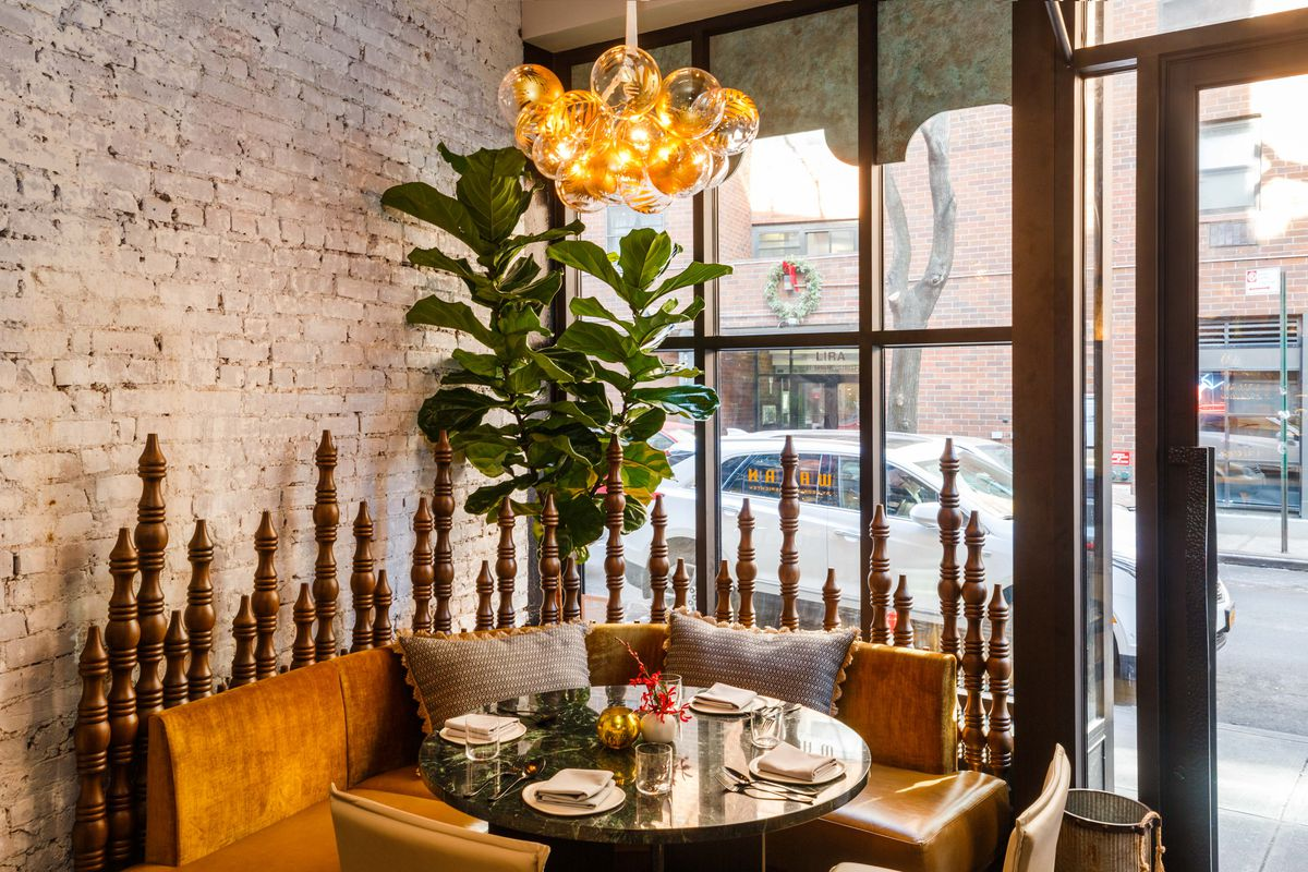 A table by the window at Wayan