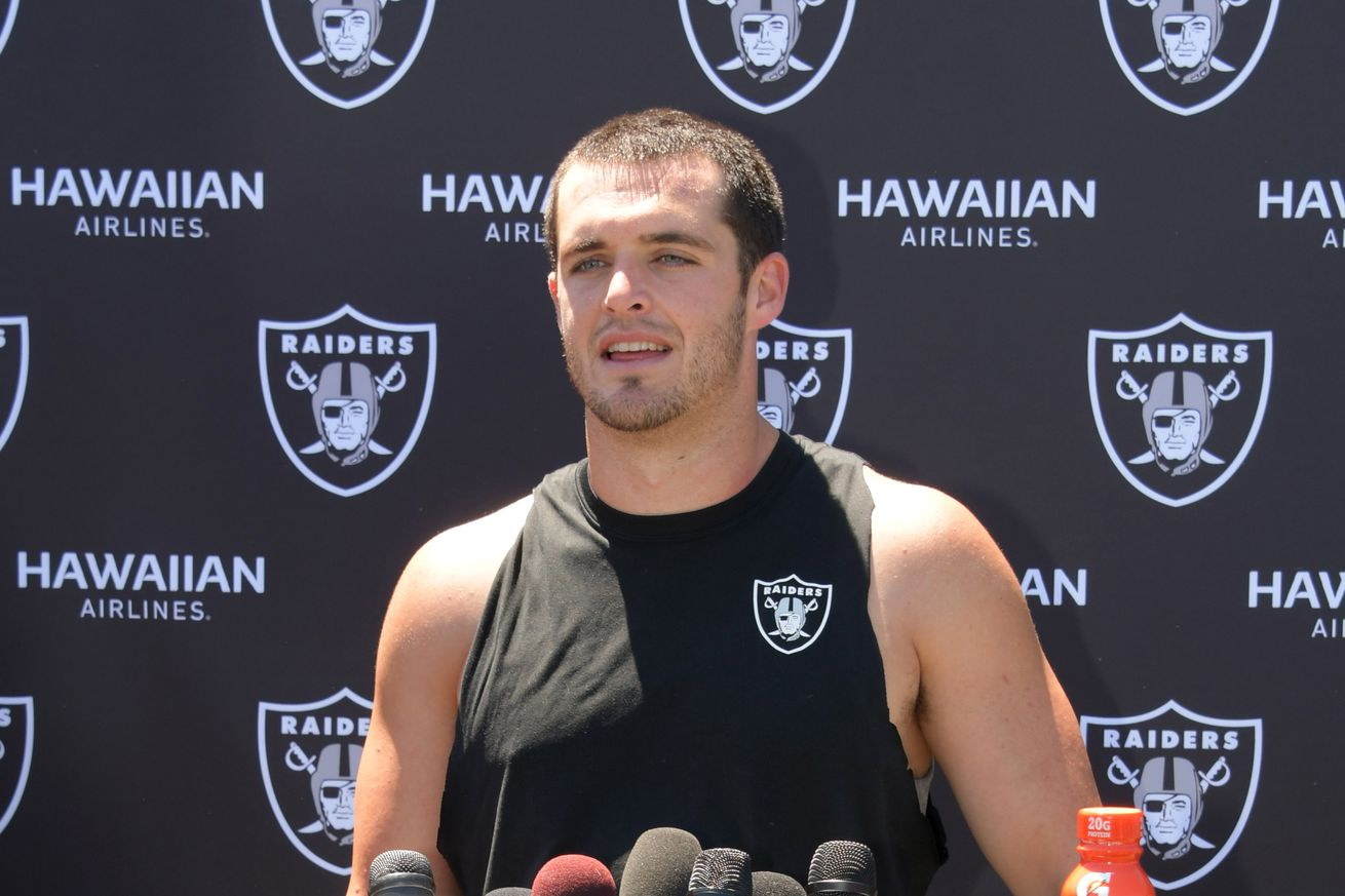 """Derek Carr doesn't understand why everyone's so excited about Raiders """"We didn't even beat Kansas City"""""""