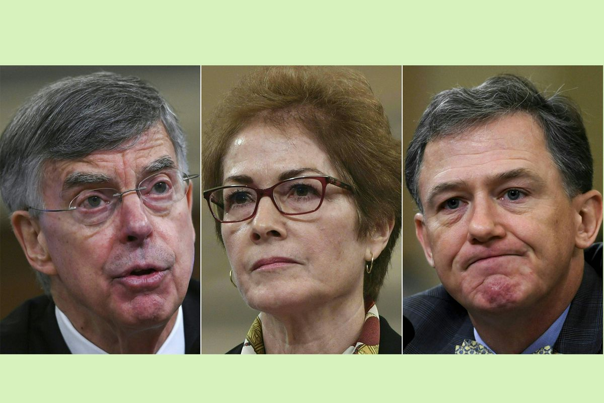 Patriotism and nobility of impeachment witnesses is inspiring