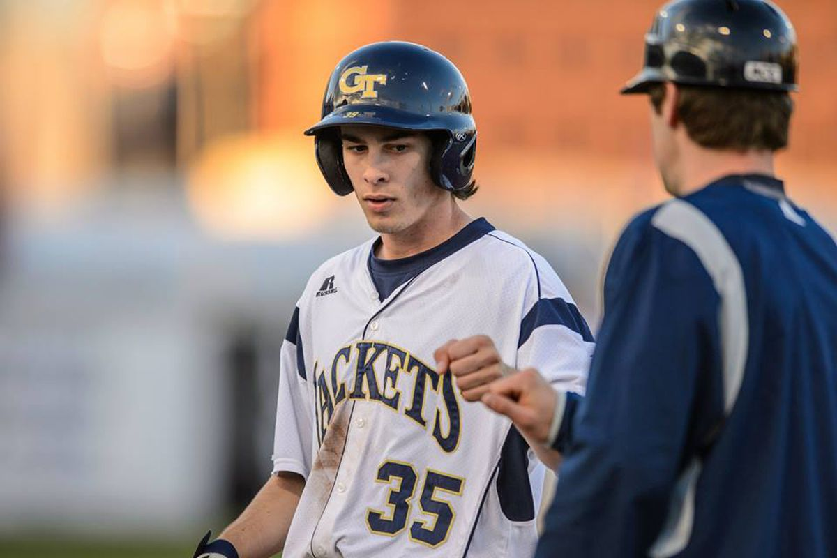 Daniel Spingola rocked this game, driving in three runs for the Yellow Jackets