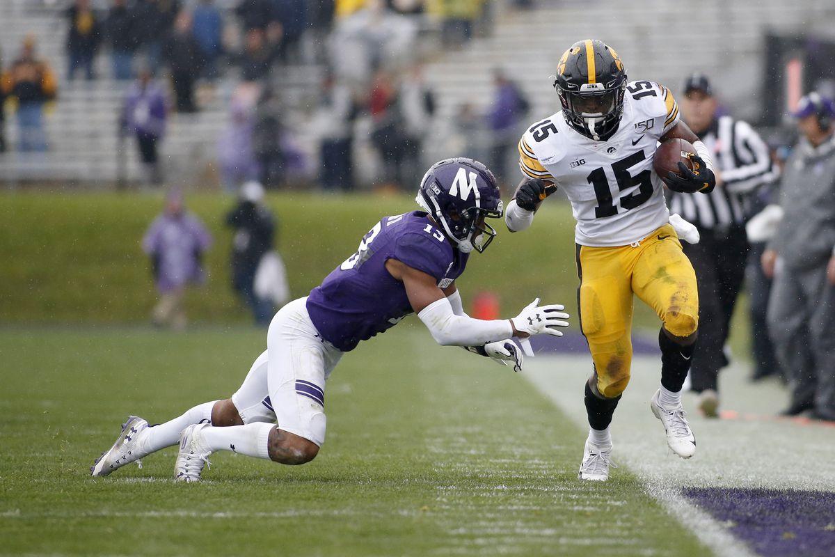 Iowa v Northwestern