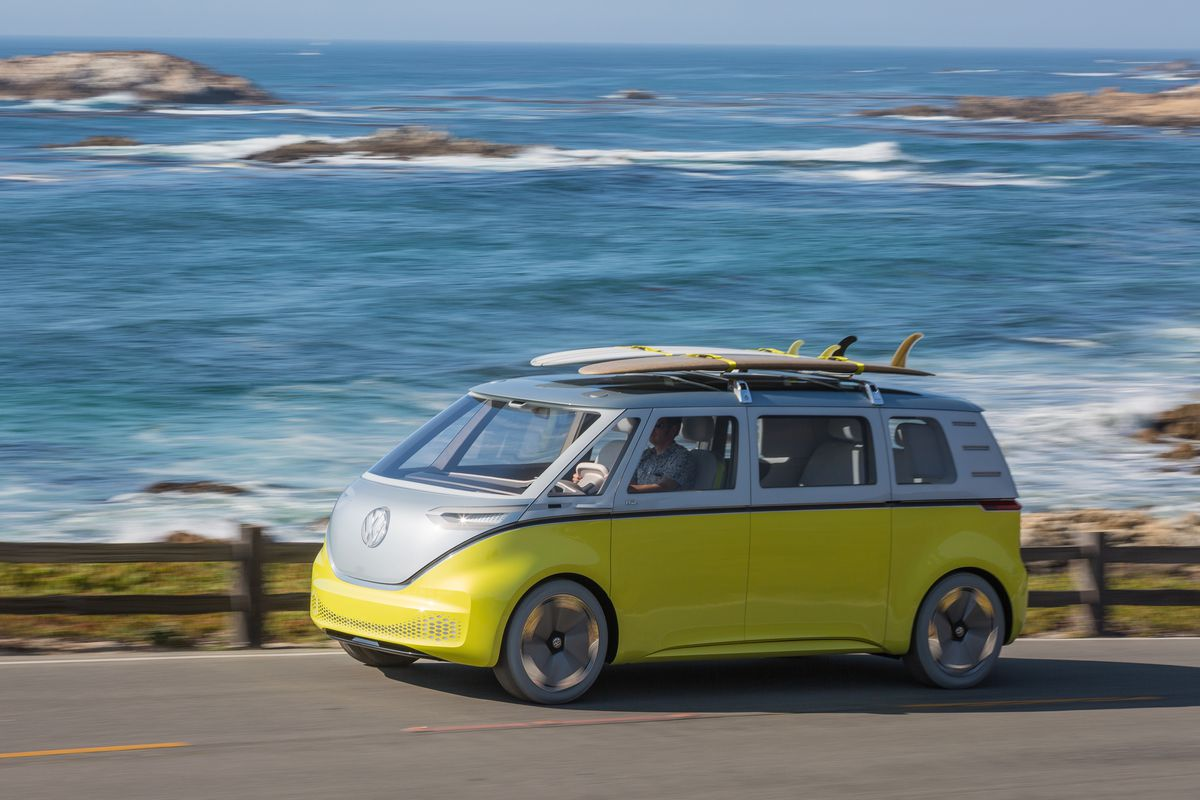 Volkswagen Is Finally Putting An Electric Microbus Into Production