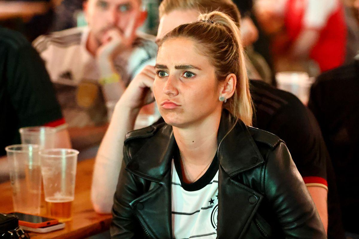 Fans Watch EURO 2020 Match France v Germany In Essen