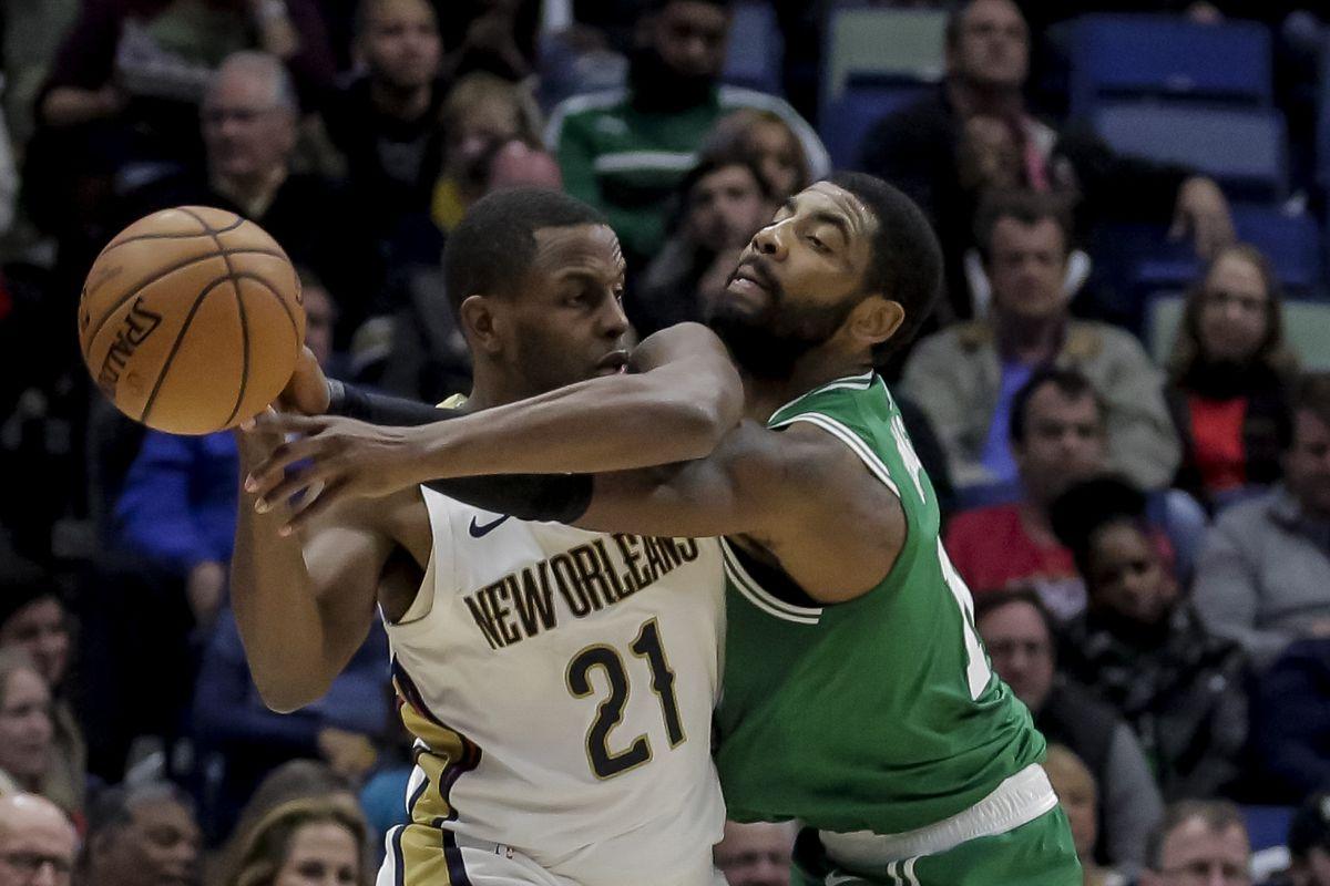 NBA: Boston Celtics at New Orleans Pelicans