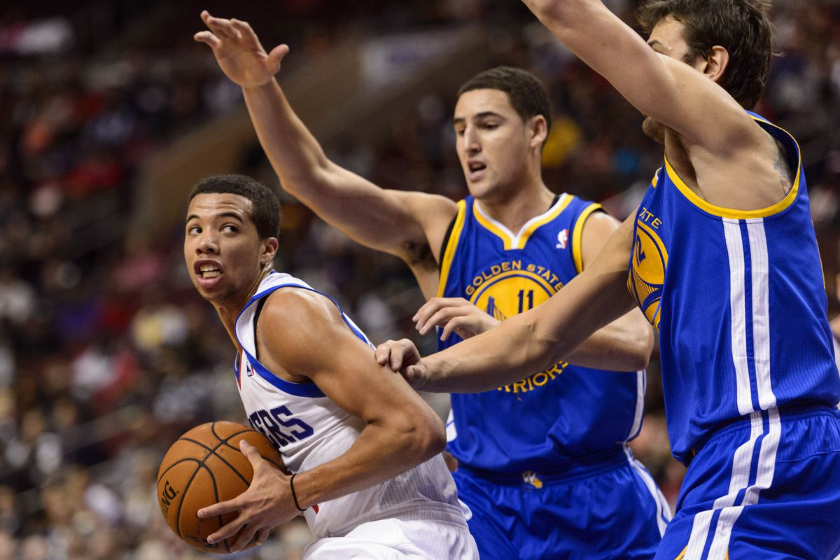 At some point, the Warriors will have to figure out how to keep Klay Thompson. For now, he's been outstanding.