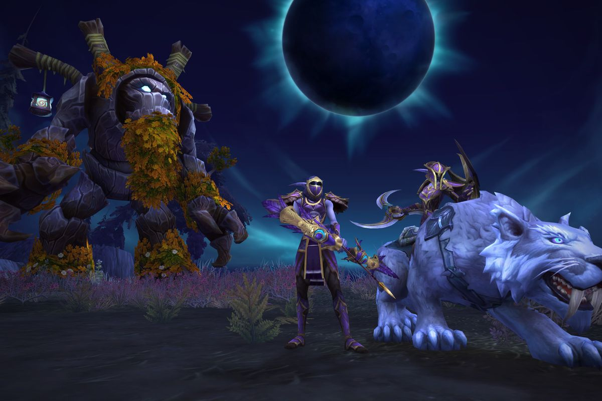 Night Elves Get The Spotlight In World Of Warcraft With