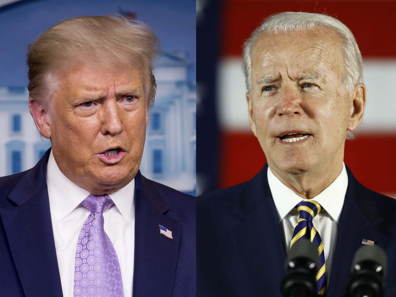 Poll: Voters concerned about election results being accepted by Trump, Biden
