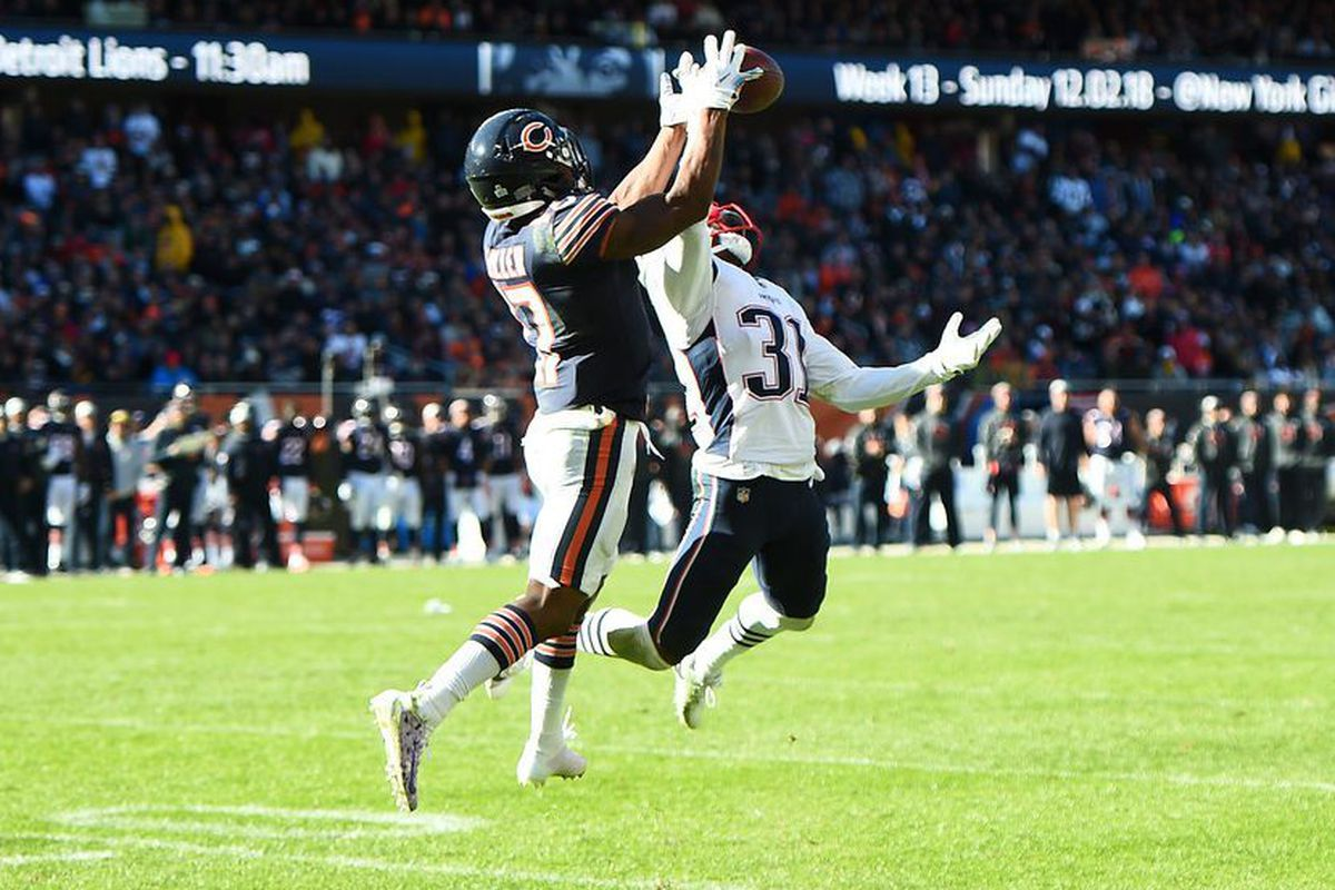 reputable site 6fb31 915bb Second-round picks James Daniels, Anthony Miller are ...