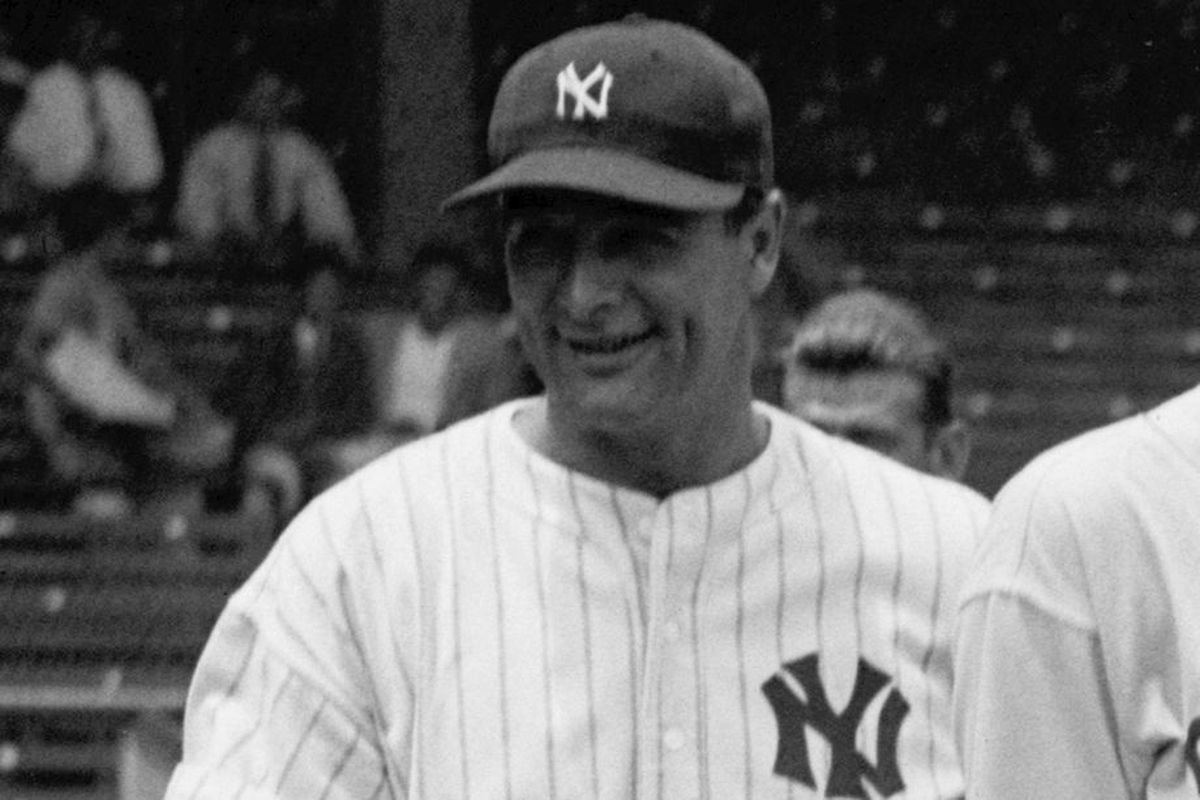 Lou Gehrig (Photo source: Wiki Commons - public domain)