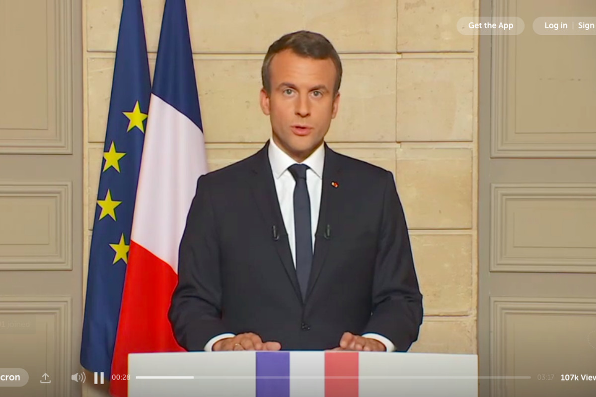 French President Emmanuel Macron Responds To Trump Make Our Planet Great Again Vox