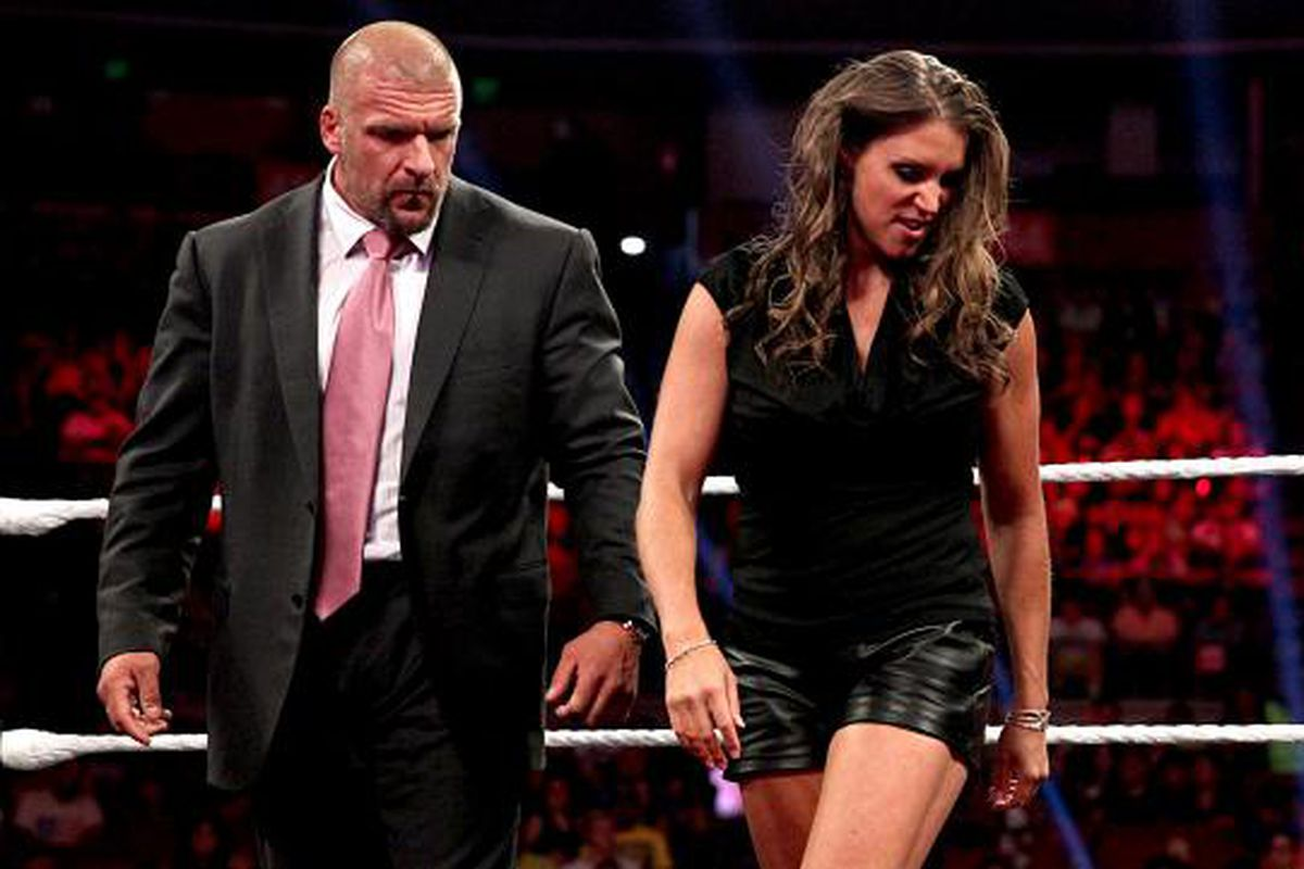 Triple H and Stephanie McMahon gave UFC a verbal Pedigreeing today.