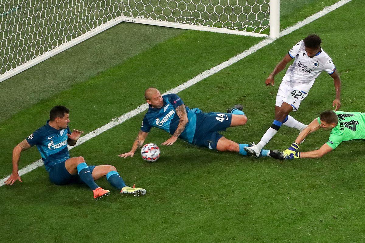 UEFA Champions League, Group Stage: Zenit St Petersburg vs Club Brugge