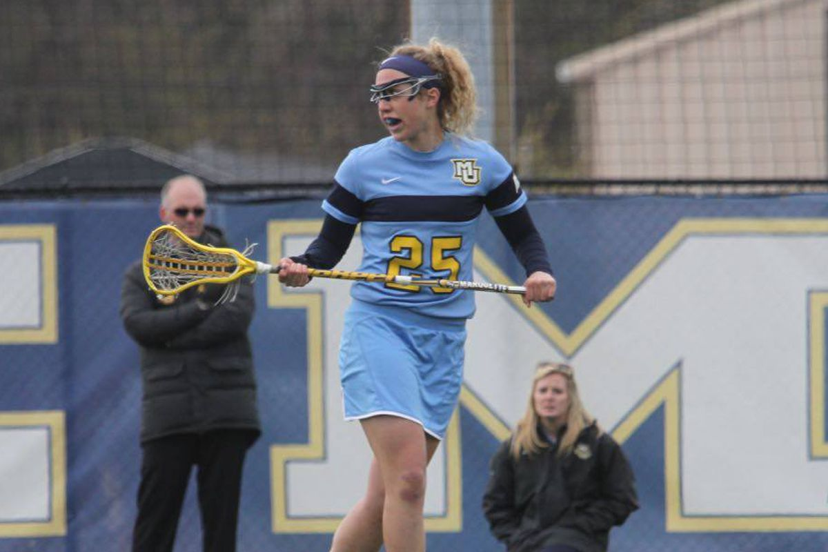 Elizabeth Goslee wraps up her collegiate career with First Team All-Big East honors.