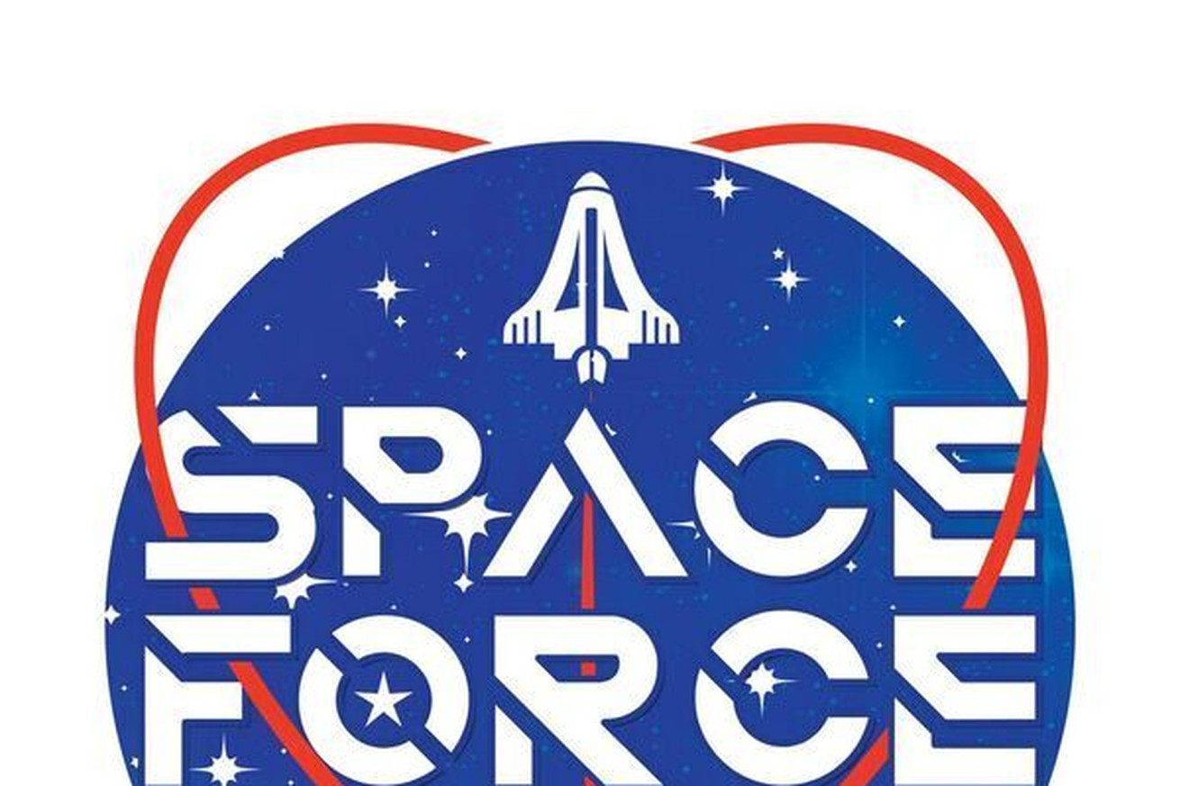trump s pac wants to know which space force logo you like best