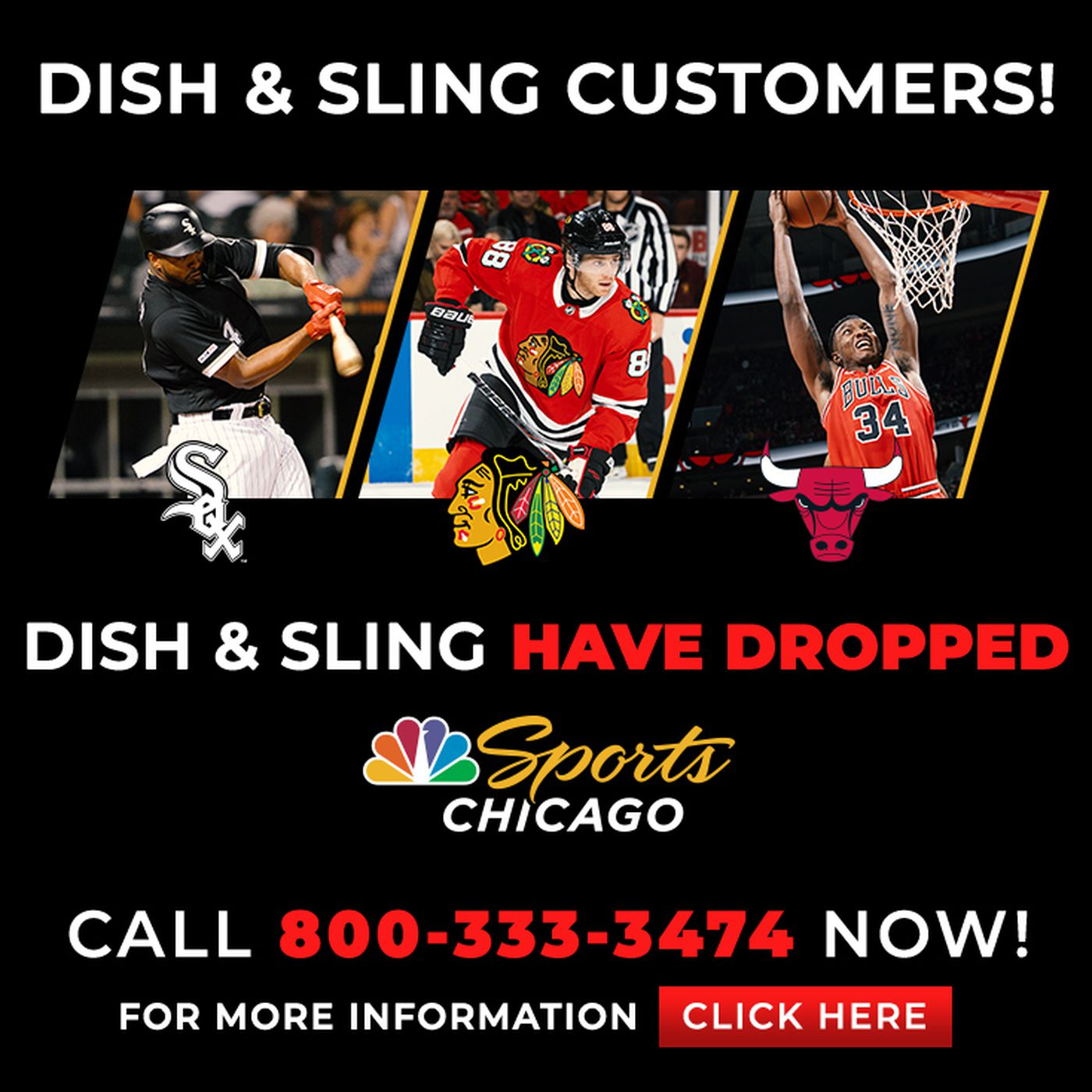 Nbc Sports Chicago Is Unlikely To Appear On Dish Network Anytime Soon Chicago Sun Times