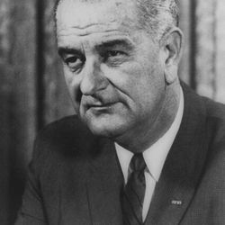 President Lyndon B. Johnson declared an unconditional war on poverty in his 1964 State of the Union speech.