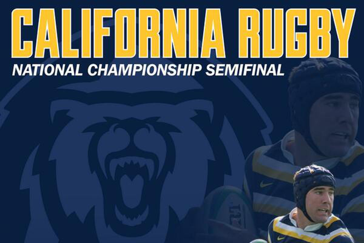 There will be rugby semifinal action on Saturday in Berkeley!