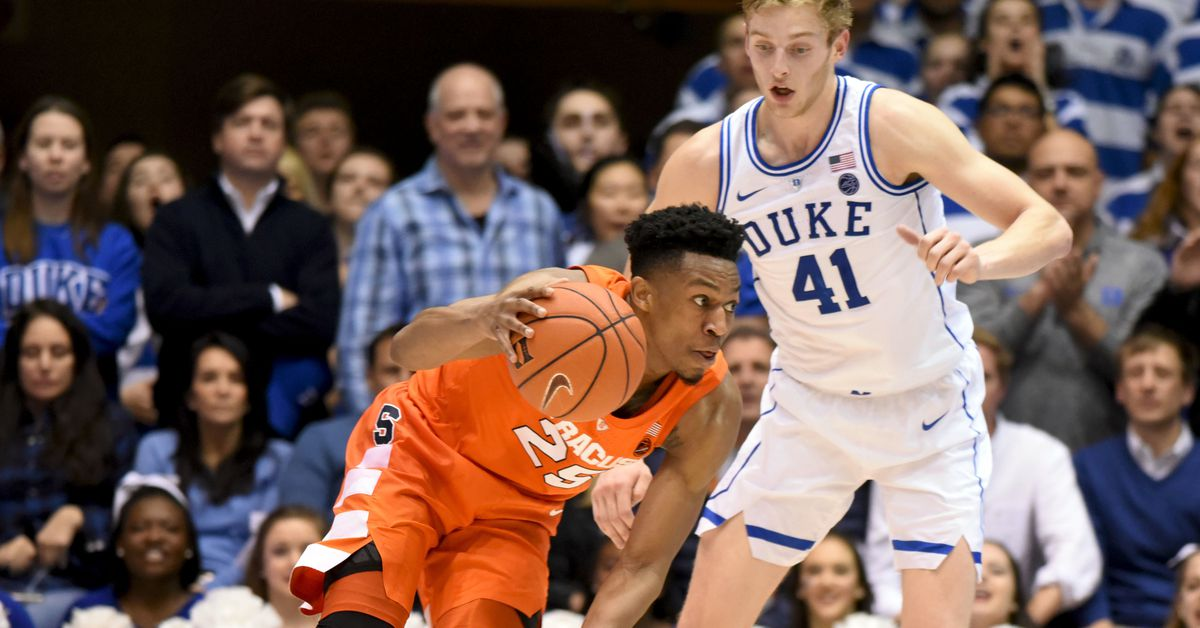 Acc Basketball Power Rankings 1 15 State Of The U