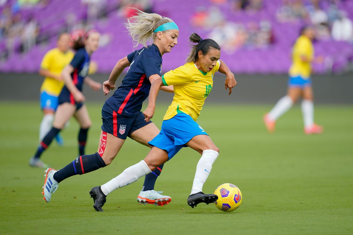 2021 SheBelieves Cup - United States v Brazil