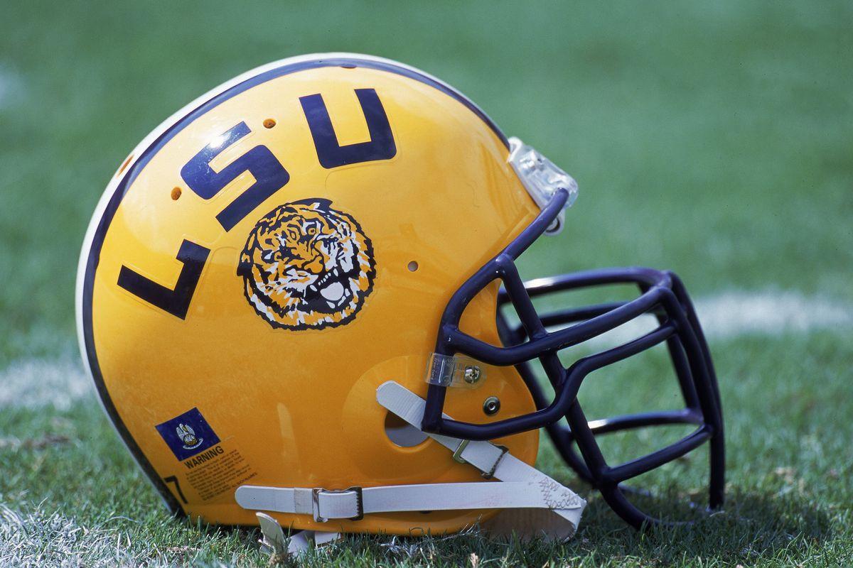 LSU Helmet