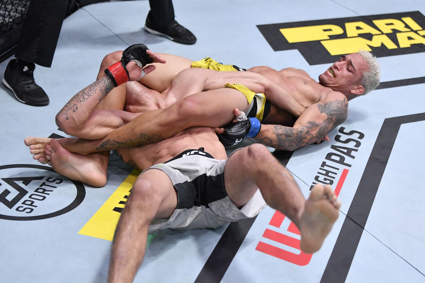 Tony Ferguson vs. Charles Oliveira full fight video highlights - MMA  Fighting