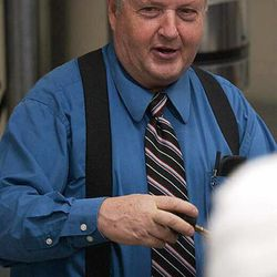 Former BYU professor Kay Sherman Mortensen was killed in his Payson home in 2009.