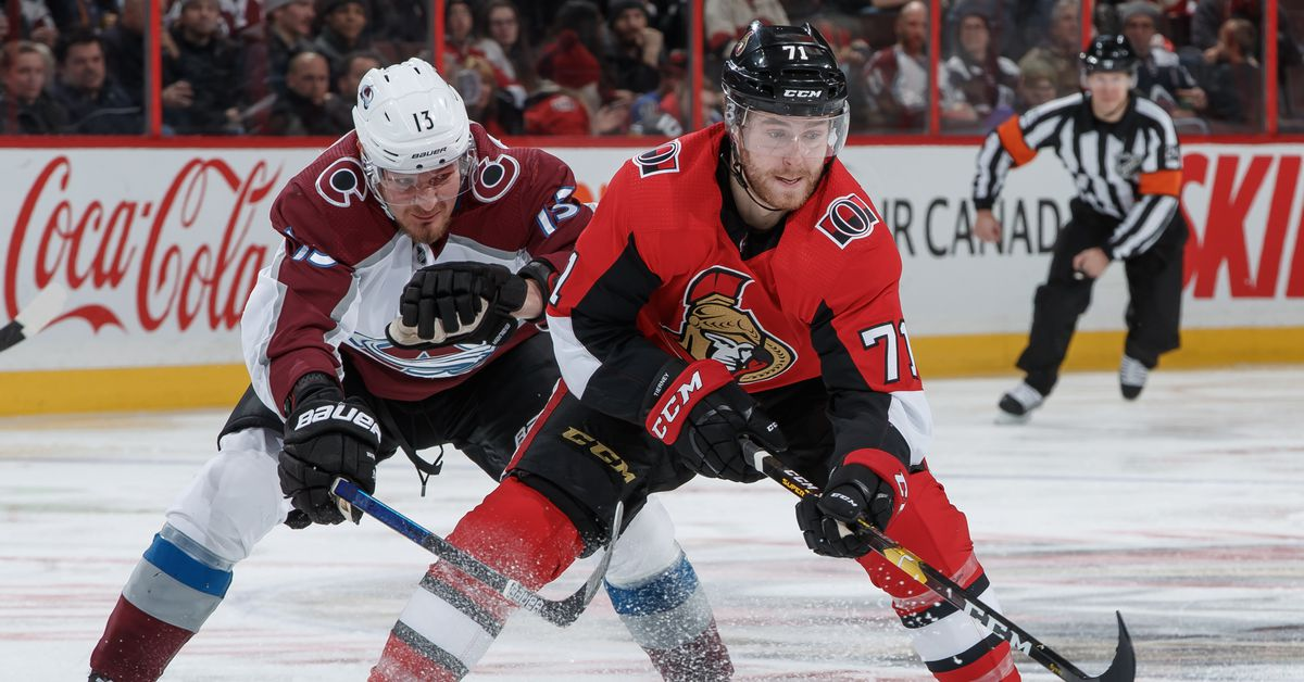 Senators Beaten by Avalanche 4-1