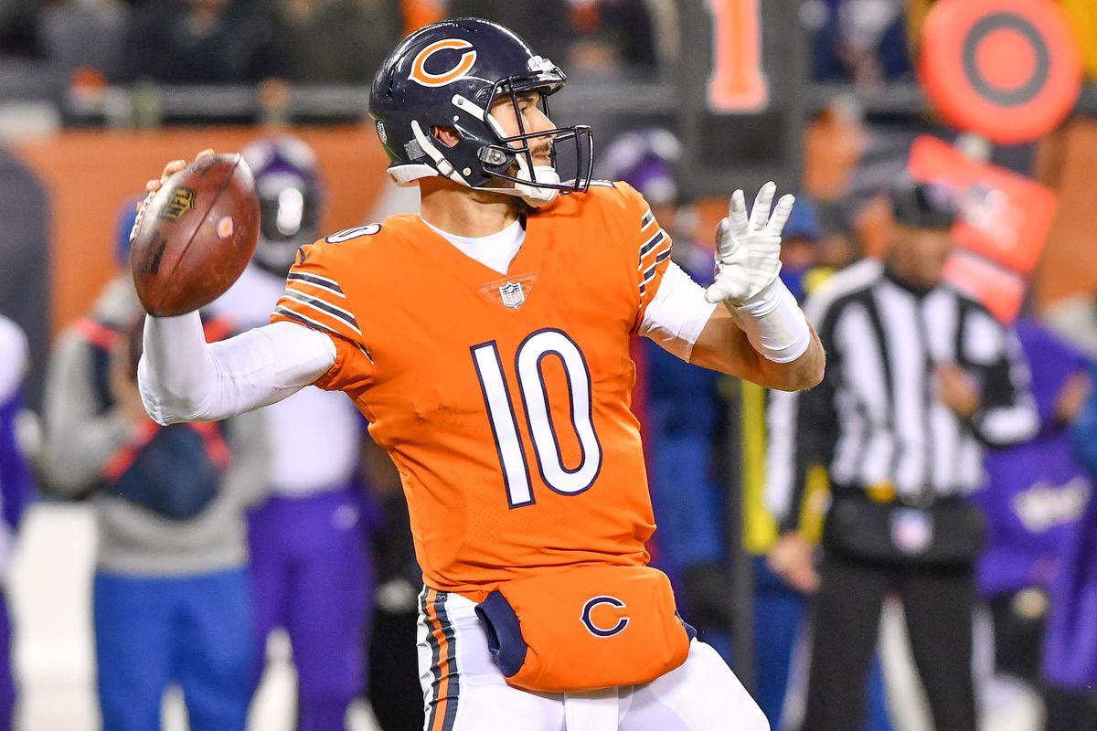 new york c73df 07968 Mitchell Trubisky: Chicago Bears quarterback the young QB ...