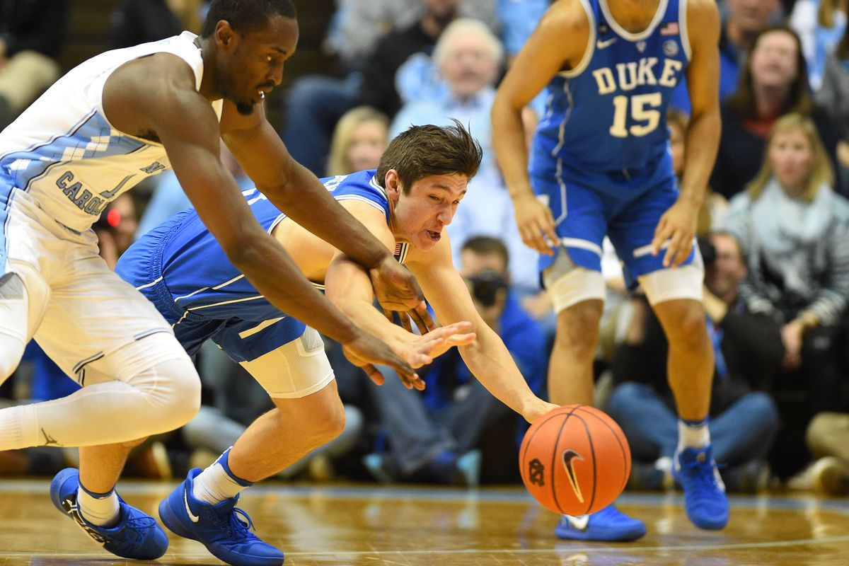 01a3707565f Grayson Allen threw a flagrant elbow and flopped all in one motion against  UNC