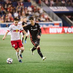 DC United's rookie midfielder Ian Harkes is six months older than Muyl; Muyl is a year more experienced as a pro.