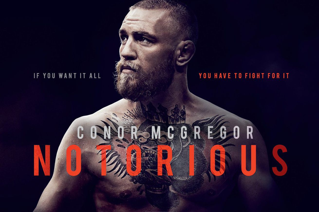 community news, Watch teaser trailer for Conor McGregor's 'Notorious' movie from Universal Pictures (Video)